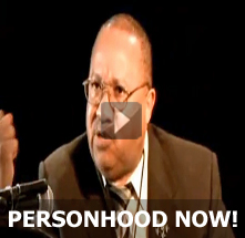 Dr. Johnny M. Hunter, DD - Personhood Debate